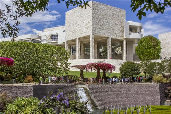The Getty Center in Los Angeles California