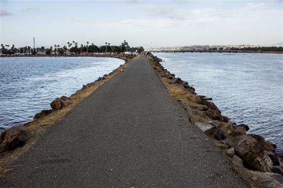 San Diego jetty