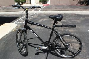 Russel Ray's bike