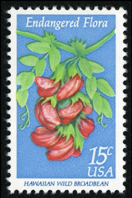 Scott #1784, Hawaiian wild broadbean, 1979