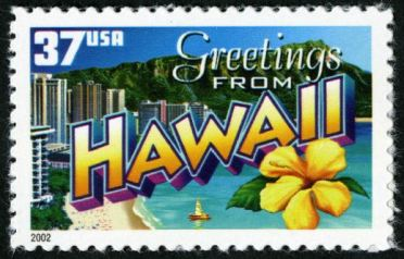 Scott #3706, Greetings from Hawaii, 2002
