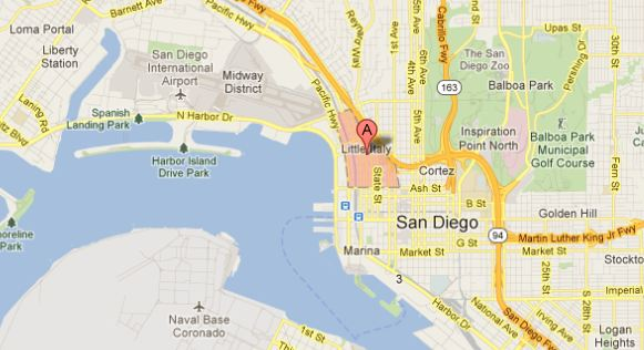 Little Italy San Diego Map.Little Italy In San Diego Russel Ray Photos