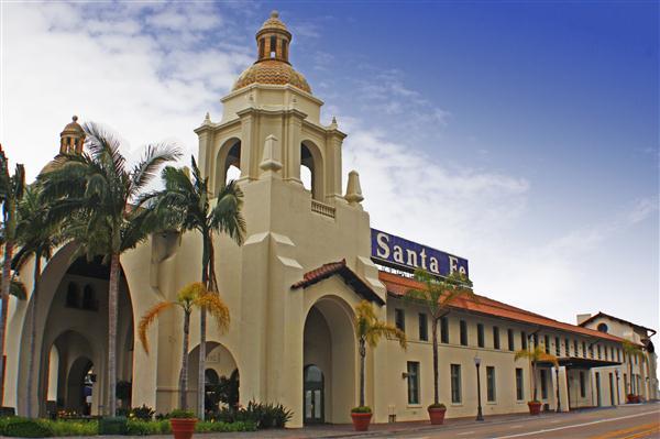 Santa Fe Depot, San Diego, California