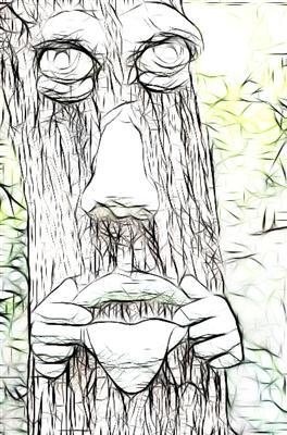 Tree face 8