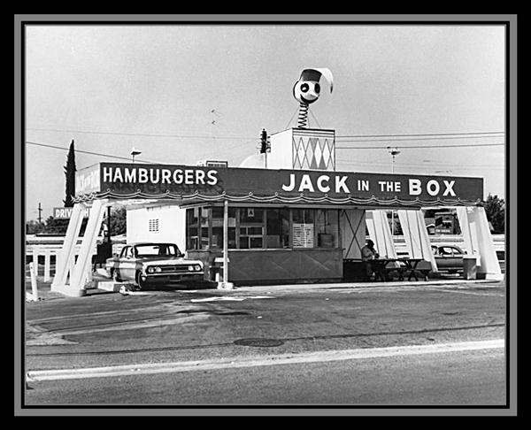 First Jack in the Box restaurant, San Diego