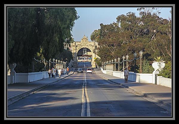 Cabrillo Bridge, Balboa Park, San Diego