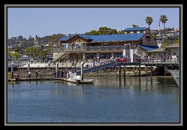 Day at the Docks, San Diego, California