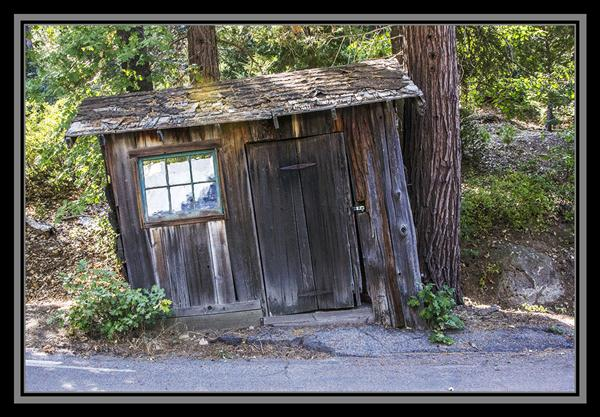 Old building on Palomar Mountain