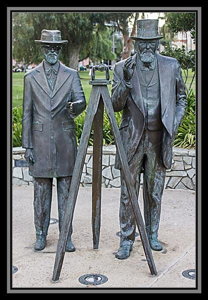 Ephraim Morse and Alonzo Horton, Balboa Park, San Diego