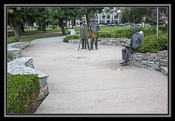 Founder's Plaza, Balboa Park, San Diego
