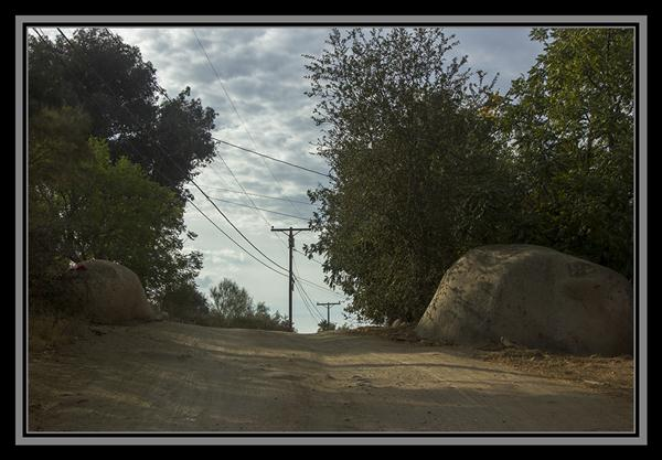 Street in the boondocks