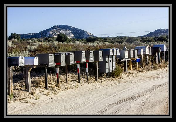 Mailboxes beyond the boondocks