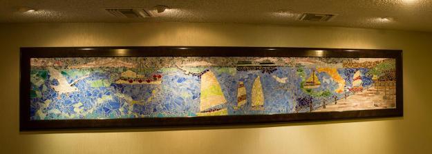 Holiday Inn mural, downtown San Diego