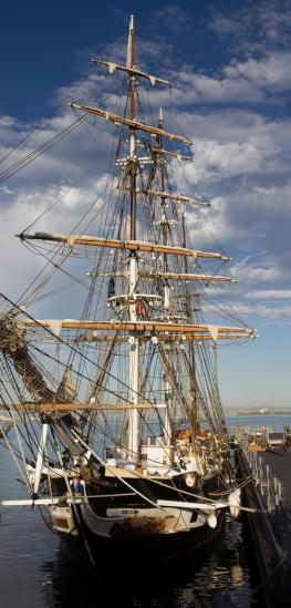 Tall ship at the 2012 Festival of Sail, San Diego