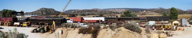 Pacific Southwest Railroad Musem, Campo, California