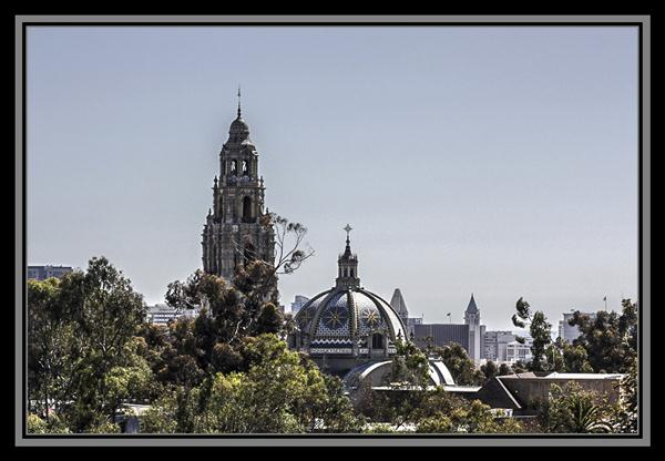 California Tower and San Diego Museum of Man, Balboa Park, San Diego