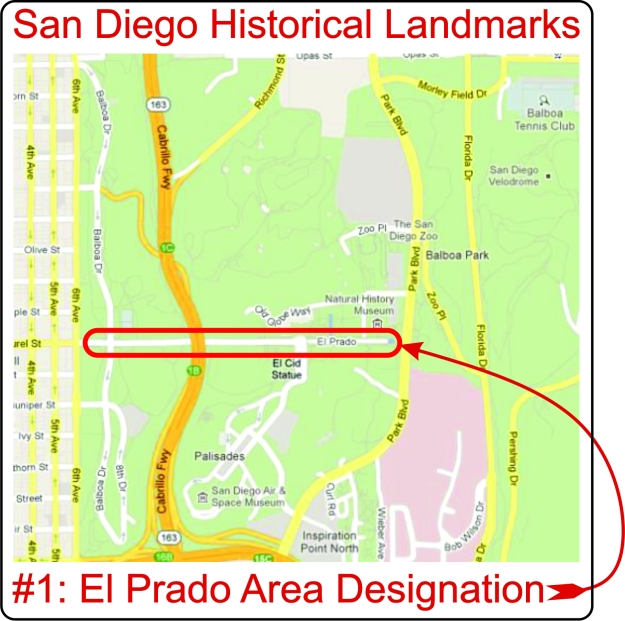 El Prado Area Designation