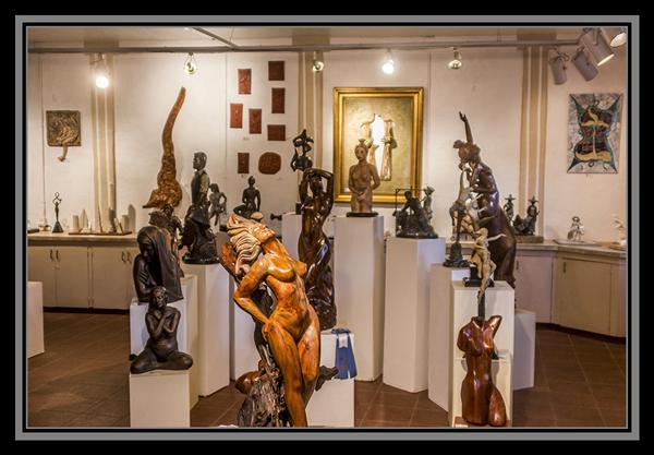 San Diego Sculptors Guild, Spanish Village, Balboa Park