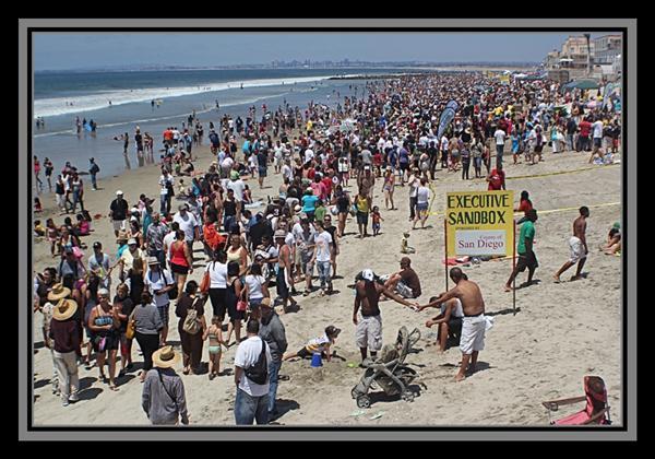 U.S. Open Sandcastle Championships, 2011, Imperial Beach, California
