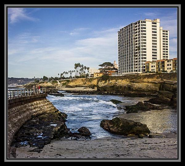 La Jolla Cove panorama, La Jolla, California