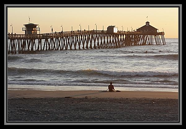 Most southwesterly pier, Imperial Beach, California
