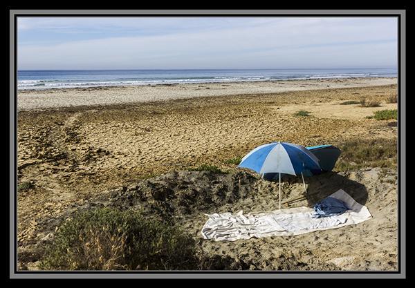 Blacks Beach in San Diego, California