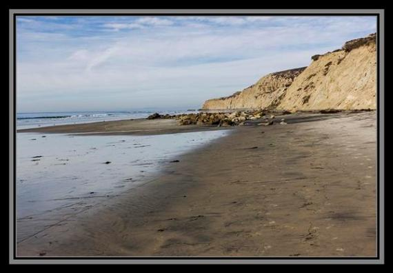 Blacks Beach in San Diego, California
