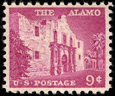 Scott #1043, The Alamo
