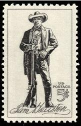 Scott #1242, Sam Houston