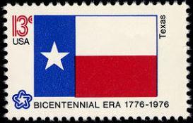 Scott #1660, Texas state flag