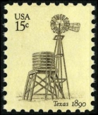 Scott #1742, Texas windmill