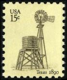 Scott #1742, Texas windmill