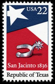 Scott #2204, Battle of San Jacinto