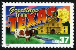 3738 Texas greetings