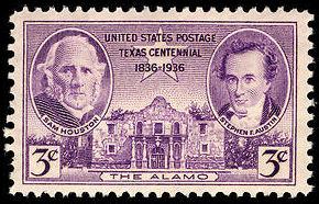 Scott #776, Texas centennial