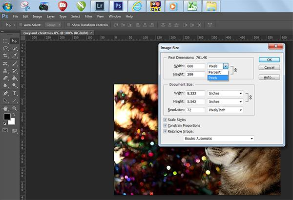 Image size window in Photoshop CS6