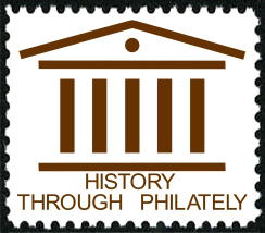 History Through Philately stamp