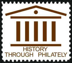 History Through Philately stamp
