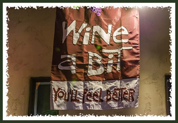 Wine a bit -- You'll feel better!