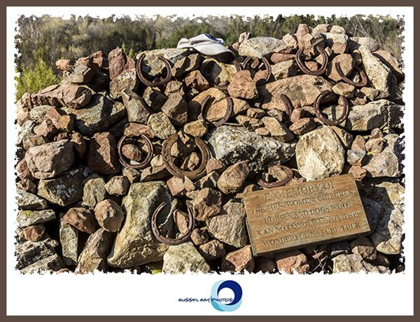 Memorial in the San Diego National Wildlife Refuge 2