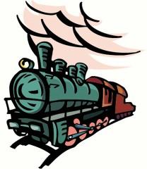 Railroads & Trains logo