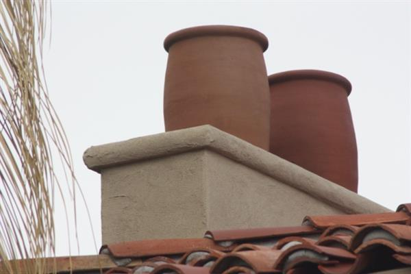 Non-Santa Claus-friendly chimney