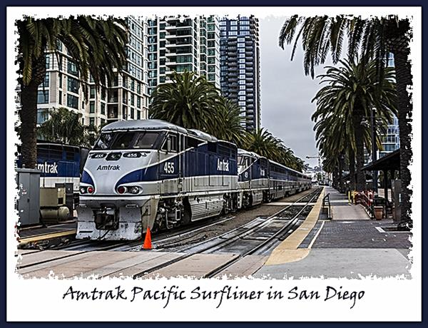 Amtrak Pacific Surfliner in San Diego