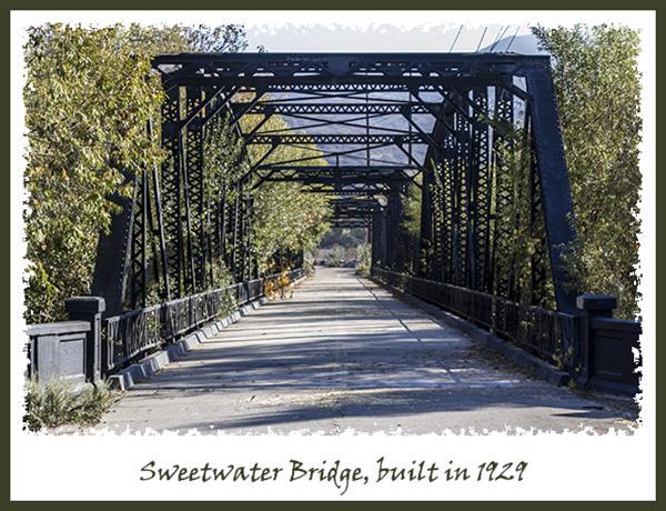 Sweetwater Bridge in San Diego National Wildlife Refuge