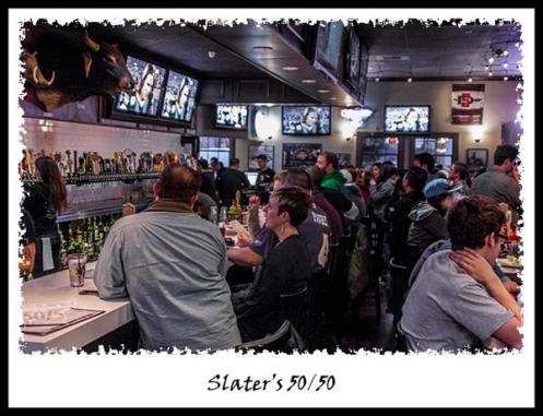 Slater's 50/50 in San Diego