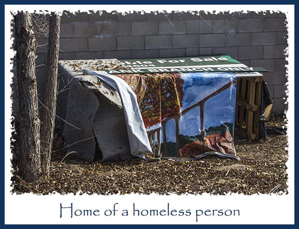 Home of a homeless person
