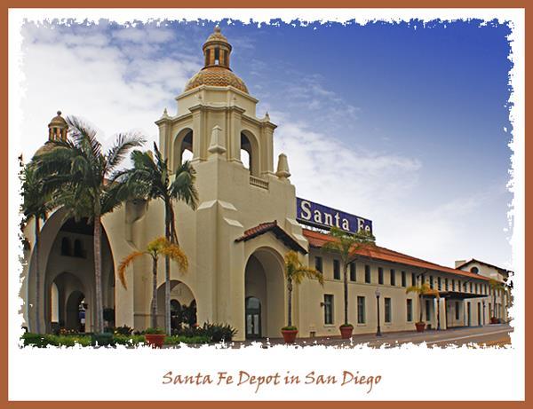 Santa Fe Depot in San Diego
