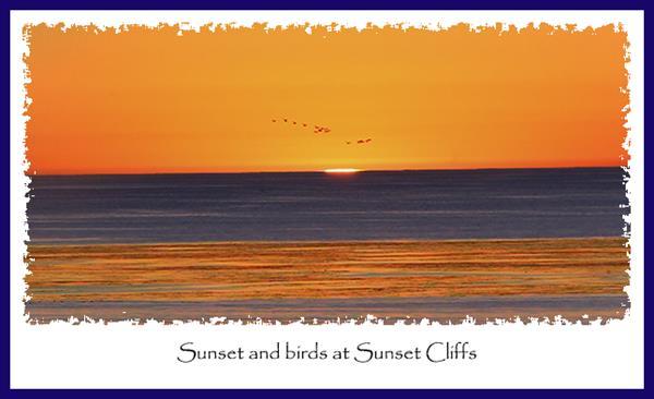 Sunset at Sunset Cliffs