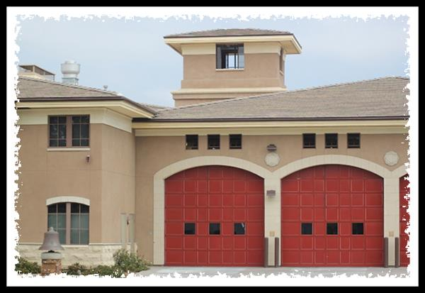Main fire station in La Mesa, California