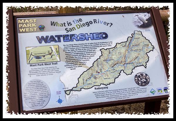 San Diego River watershed